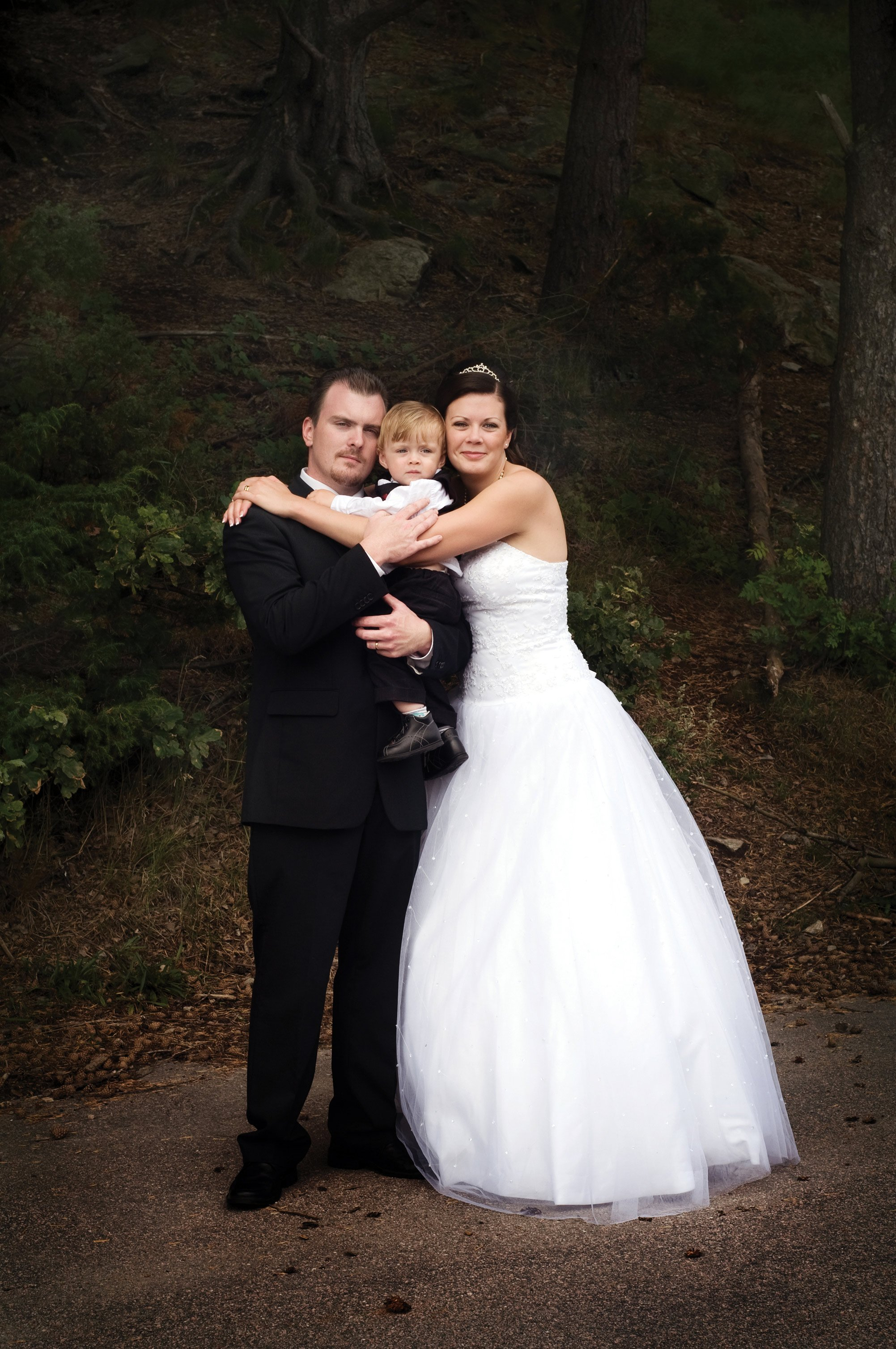Wedding photography on location